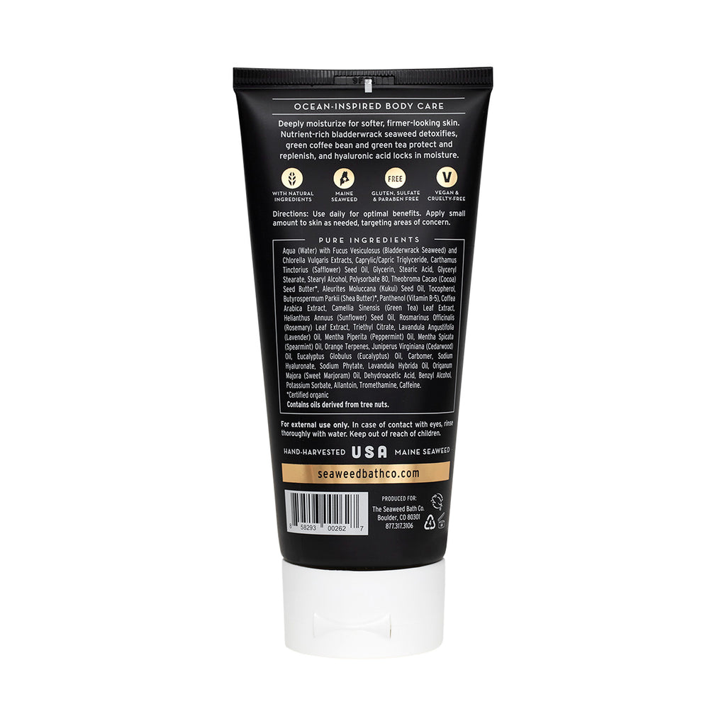 Back of Detox | Exfoliating Body Cream in Awaken Scent Tube