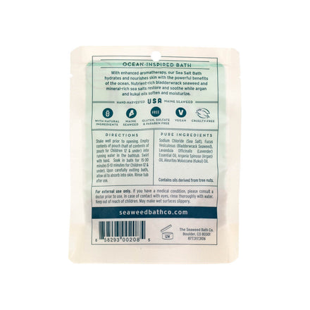 Hydrating Nourishing Sea Salt Bath - Lavender