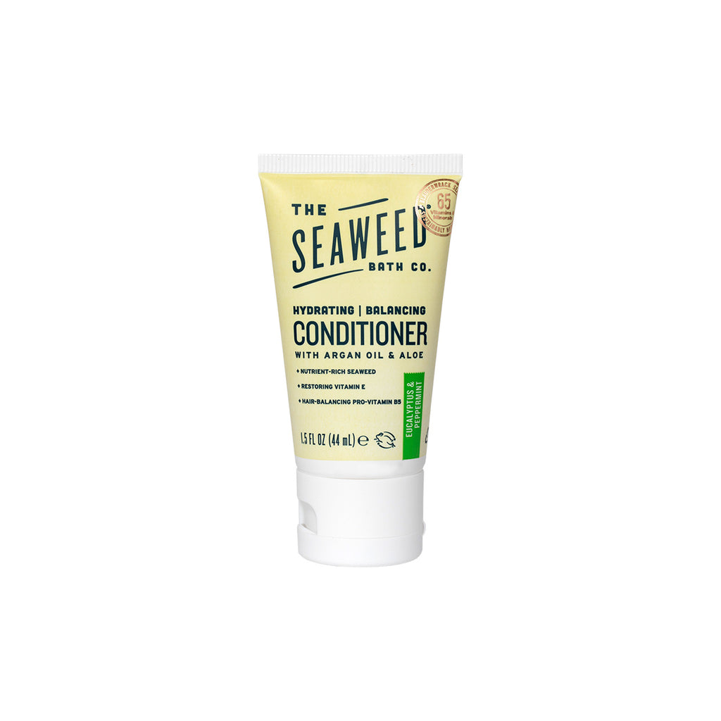 Front of Hydrating | Balancing Conditioner in Eucalyptus & Peppermint Mini Tube