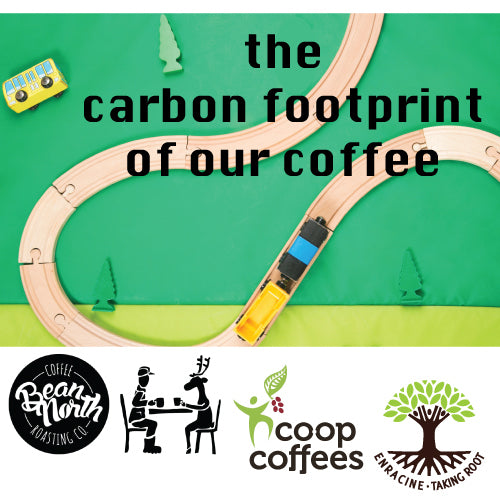 The carbon footprint report of our coffee roastery