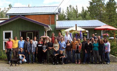 Cooperative Coffees group at their 2011 AGM that took place at Bean North Coffee Roasting's cafe in Yukon, Canada