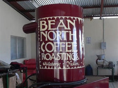 Bean North Coffee Roasting's old roaster 'Big Red'