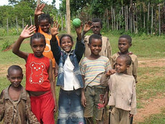 Happy children at Sidama in Ethiopia | Bean North Coffee Roasting Co. Ltd.