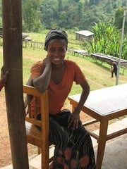 One of the women from producer group Sidama in Ethiopia| Bean North Coffee Roasting Co. Ltd.