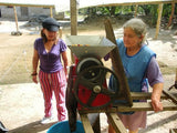 A coffee mill at FAPECAFES in Ecuador | Bean North Coffee Roasting Co. Ltd.