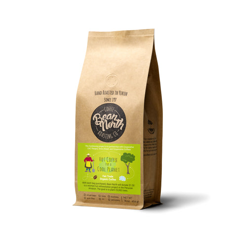 Give the Gift of Trees! Hot Coffee for a Cool Planet - Blend of Peruvian Coffees