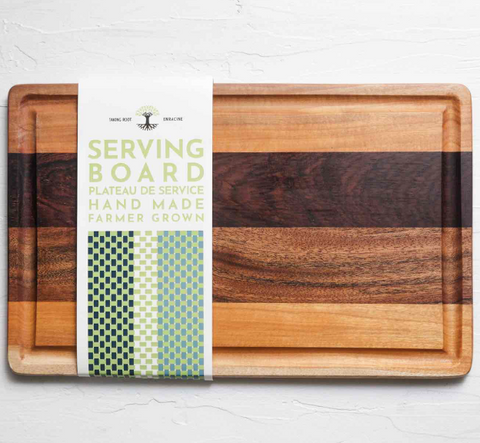 Serving Board - Taking Root - Bean North Coffee Roasting