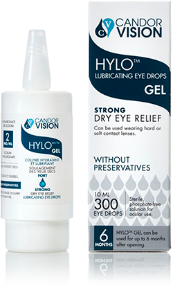 Hylo Lubrication Eye Gel Drops