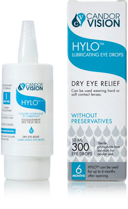HYLO Lubricating Eye Drops