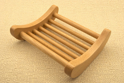 Beechwood Curved One Piece Tray
