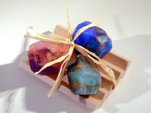 Palmstone Gift Set with Soap Rack