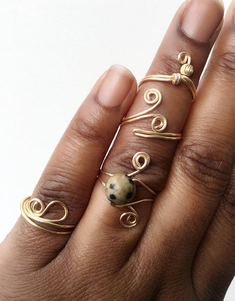 D.I.Y. Jewelry Making Classes: RINGS Onlie Class  (coming soon)