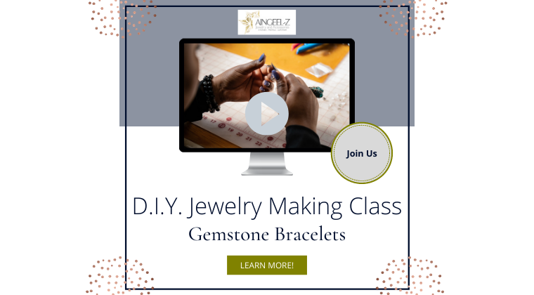 D.I. Y. Jewelry Making Class: Gemstone Bracelet