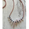 Blush Rose Quartz Waist Bead Strand