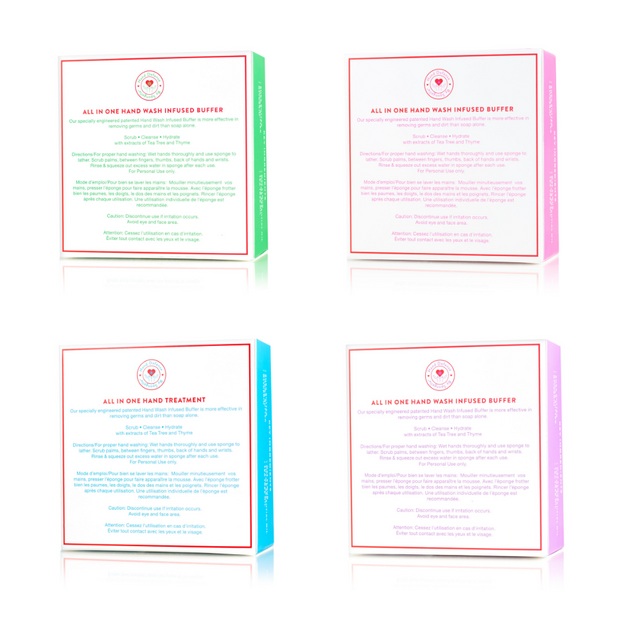 Hand Defense Assorted Pack 1