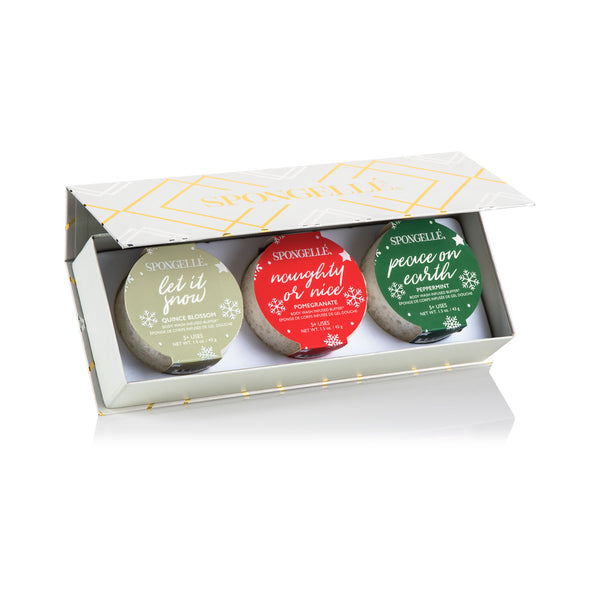 Merry & Bright | Holiday Gift Set - Spongellé