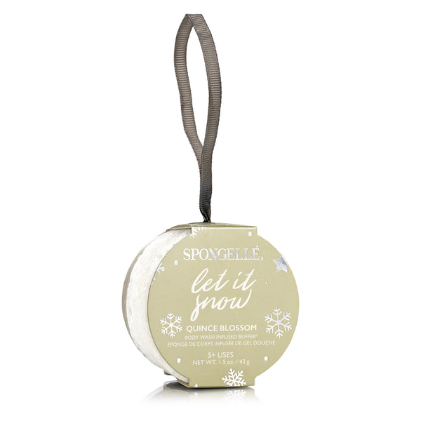 Let It Snow | Holiday Ornament - Spongellé