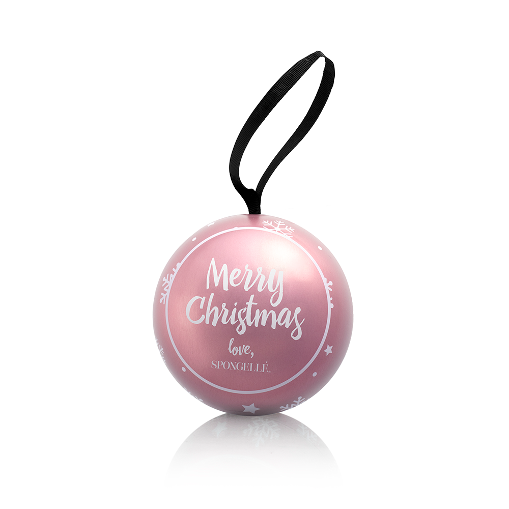 Brilliant Tuberose | Holiday Shimmer Ornament - Spongellé