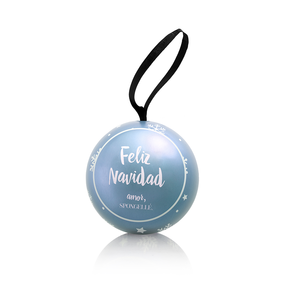 (PRE-ORDER) Moon Flower | Holiday Shimmer Ornament - Spongellé