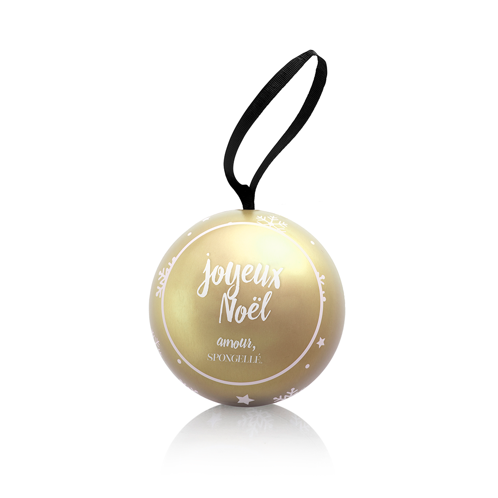 Radiant Amber | Holiday Shimmer Ornaments - Spongellé