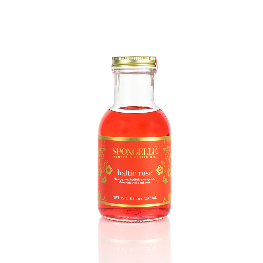 Baltic Rose Diffuser Oil | Floret Collection - Spongellé