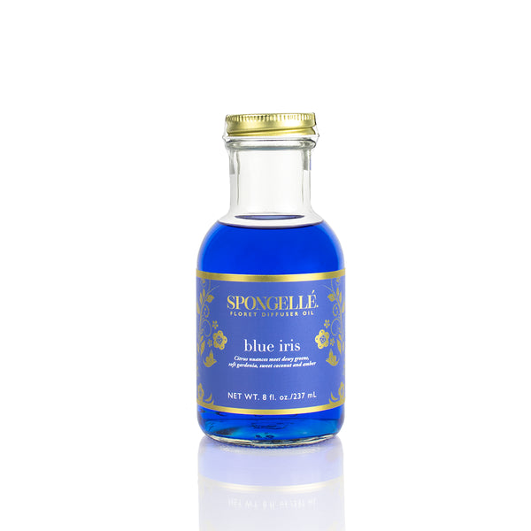 Blue Iris Diffuser Oil | Floret Collection - Spongellé