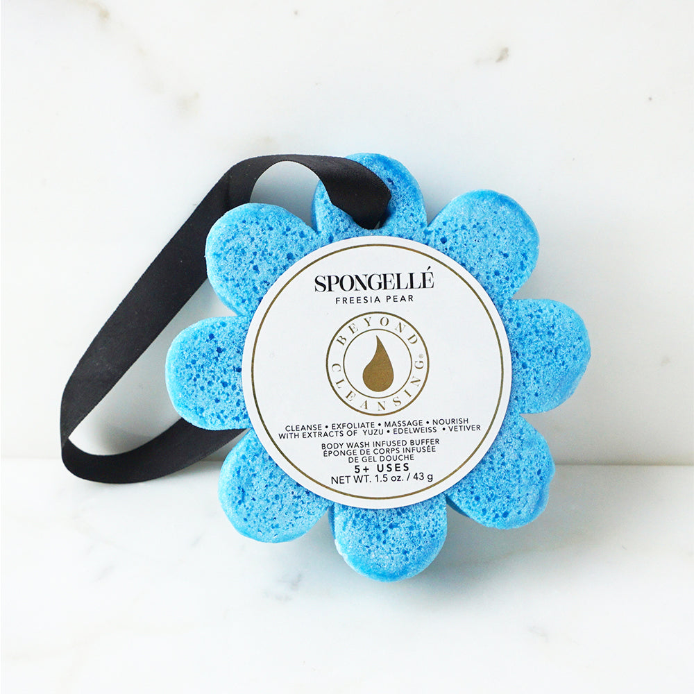 Freesia Pear | Wild Flower Bath Sponge - Spongellé