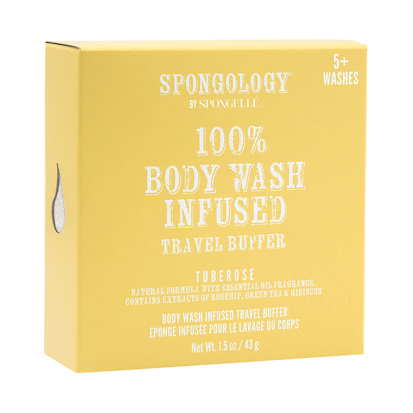 Tuberose Travel Buffer | Spongology