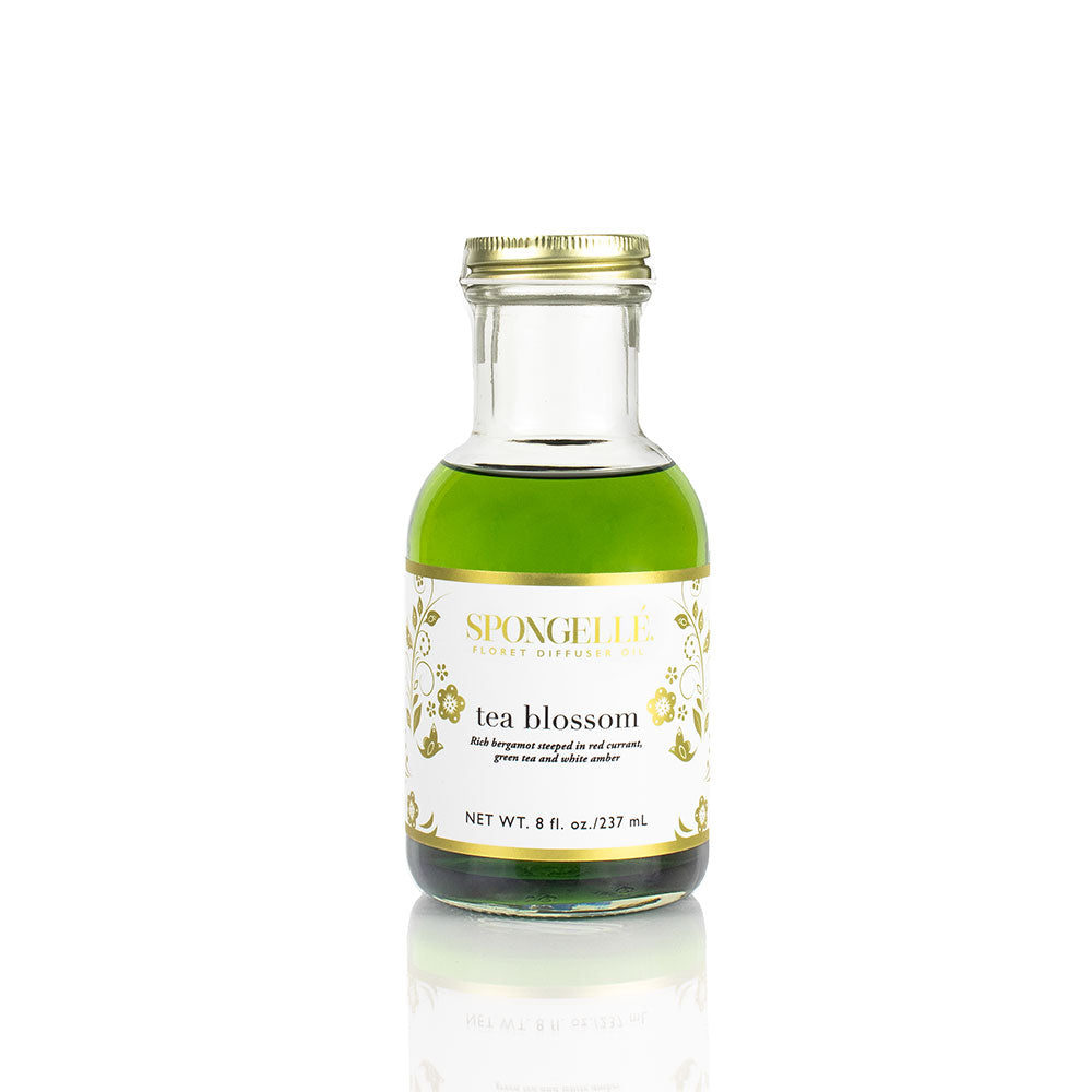 Tea Blossom Diffuser Oil | Floret Collection - Spongellé