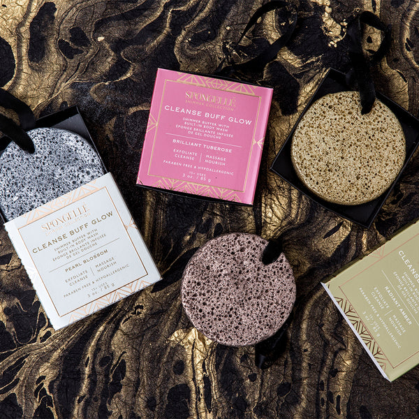 Shimmer Buffer Assorted Pack - Spongellé