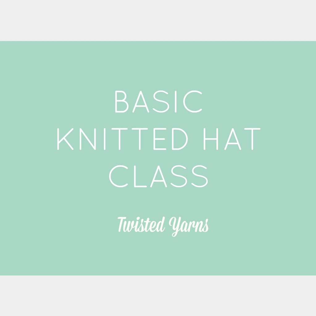 Basic Knitted Hat Class