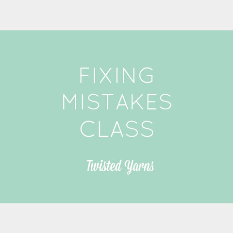 Fixing Beginner Mistakes Class