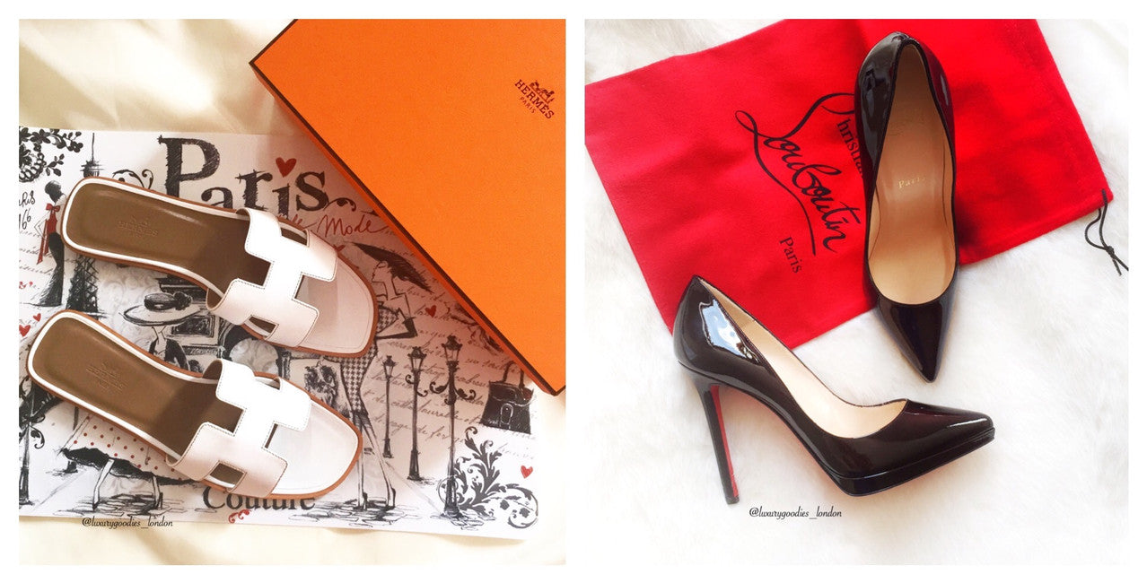 Hermes and Christian Louboutin Pigalle Plato