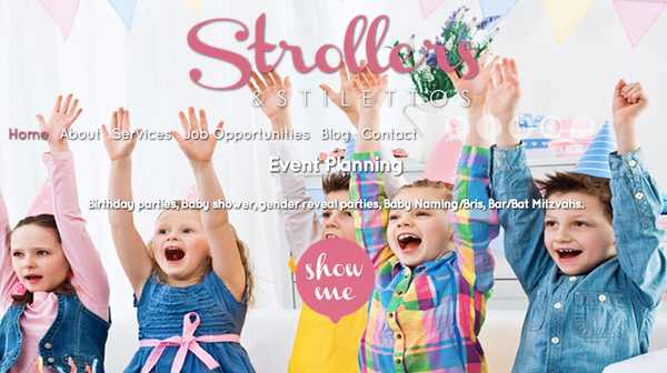 Strollers and Stilettos interview with Kate Marie Grinold Sigfusson