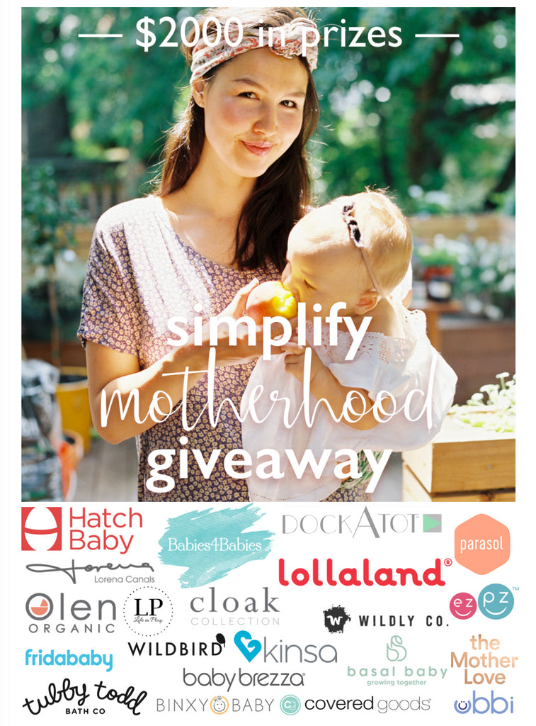 Simplify Motherhood $2000 Giveaway