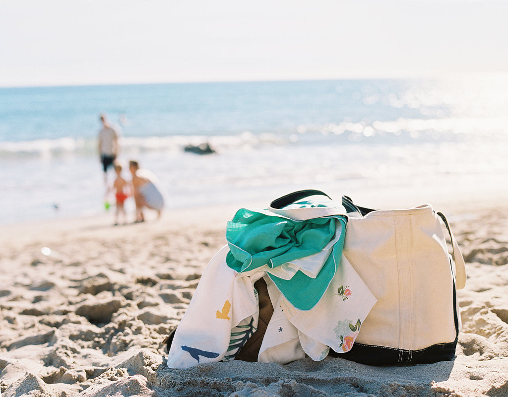 Summer beach bag essentials for baby