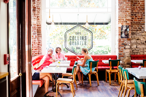collins quarter coffee shop savannah