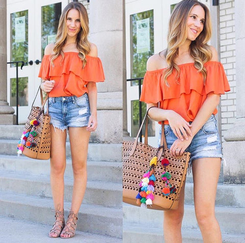 twentiesgirlstyle off the shoulder