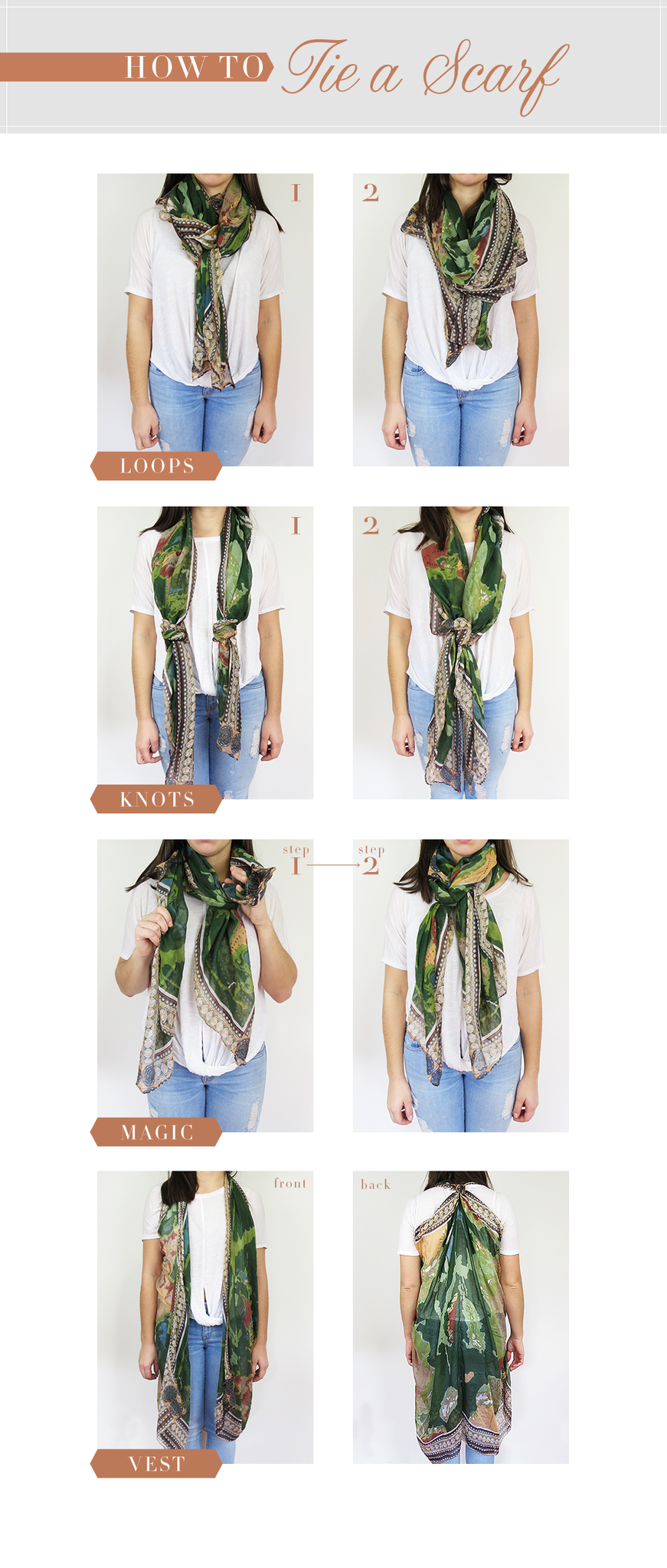 Tip For The Magic Loop: Wrap Scarf Around Your Neck So It Is Wrapped Fully  Around One Time And The Ends Hang Down On Either Side Put Your Hand Inside  The