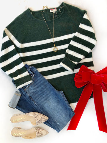 Hunter Stripe Sweater