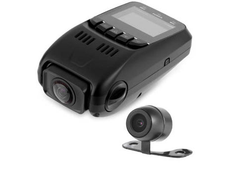 Dual DVR dashcam 1080P DVR 170 Degree Wide Angle