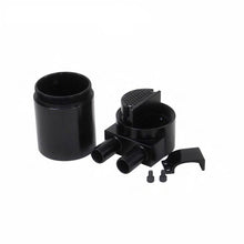 Load image into Gallery viewer, High Performance Black Anodised Oil Catch Can Tank