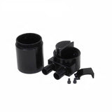 High Performance Black Anodised Oil Catch Can Tank