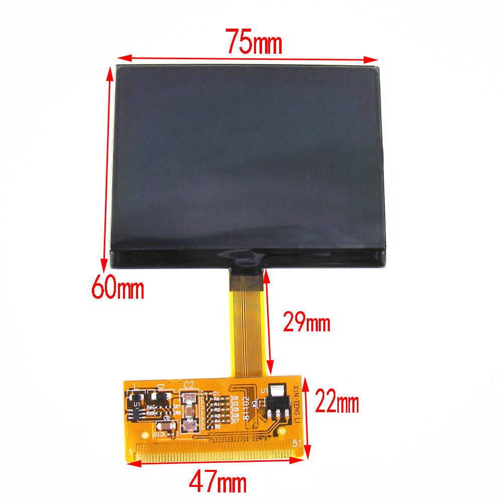 Audi TT VDO LCD Repair Cluster Speedometer Display Screen