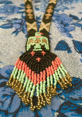 Kalindi Beaded Long Necklace
