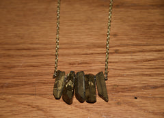 Golden Quartz Necklace