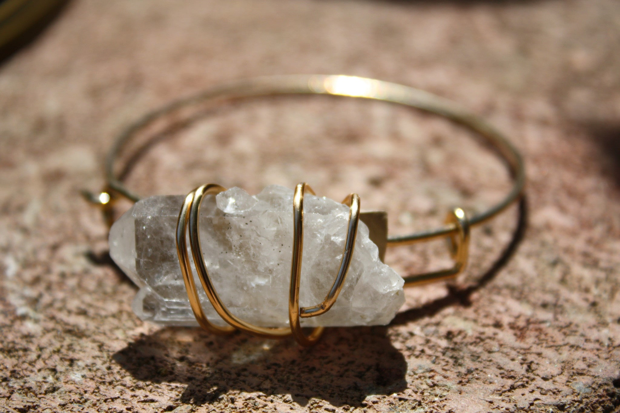 Crystal Quartz Wrist Power Bracelet