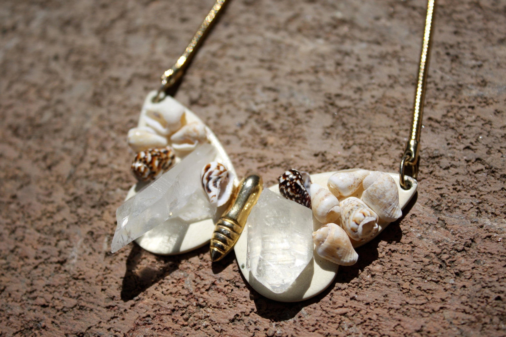 Mariposa Libre FreeSpirit Quartz Necklace