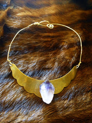Goddess Of Love - Amethyst Necklace