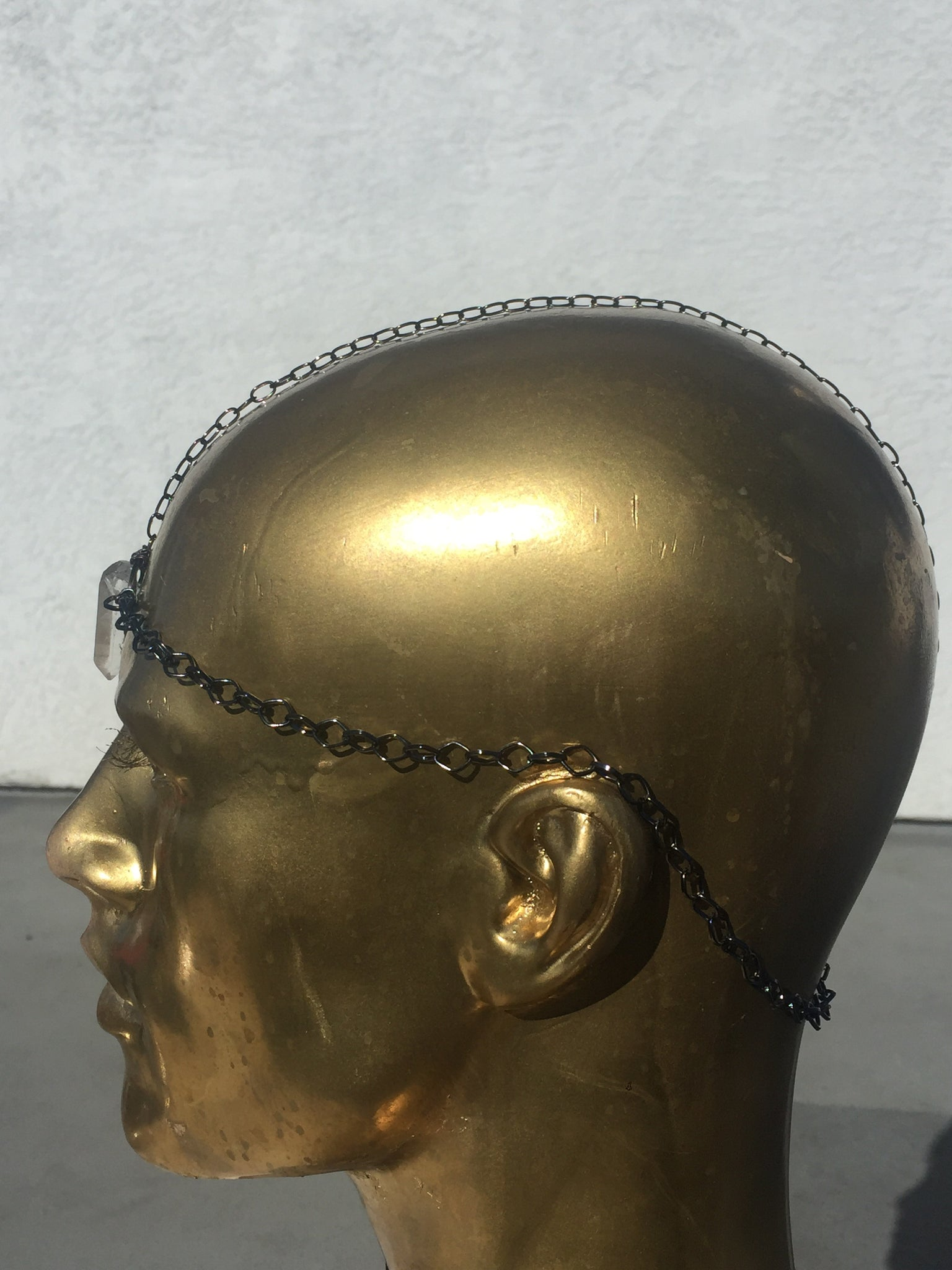 Quartz thirdeye headchain